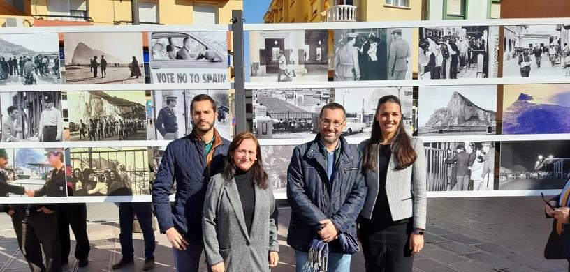 La alcaldesa de Gibraltar acudió a la presentación en La Línea