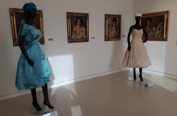 Una imagen de la exposición ubicada en el Museo Cruz Herrera