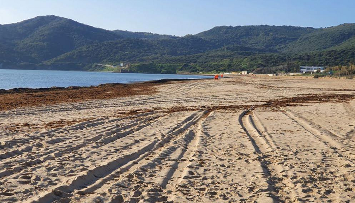 El Ayuntamiento actúa sobre las playas de Algeciras tras el temporal