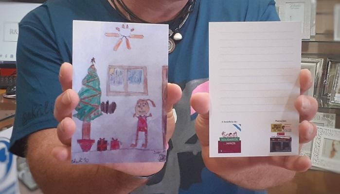 En marcha una campaña solidaria a través de postales navideñas