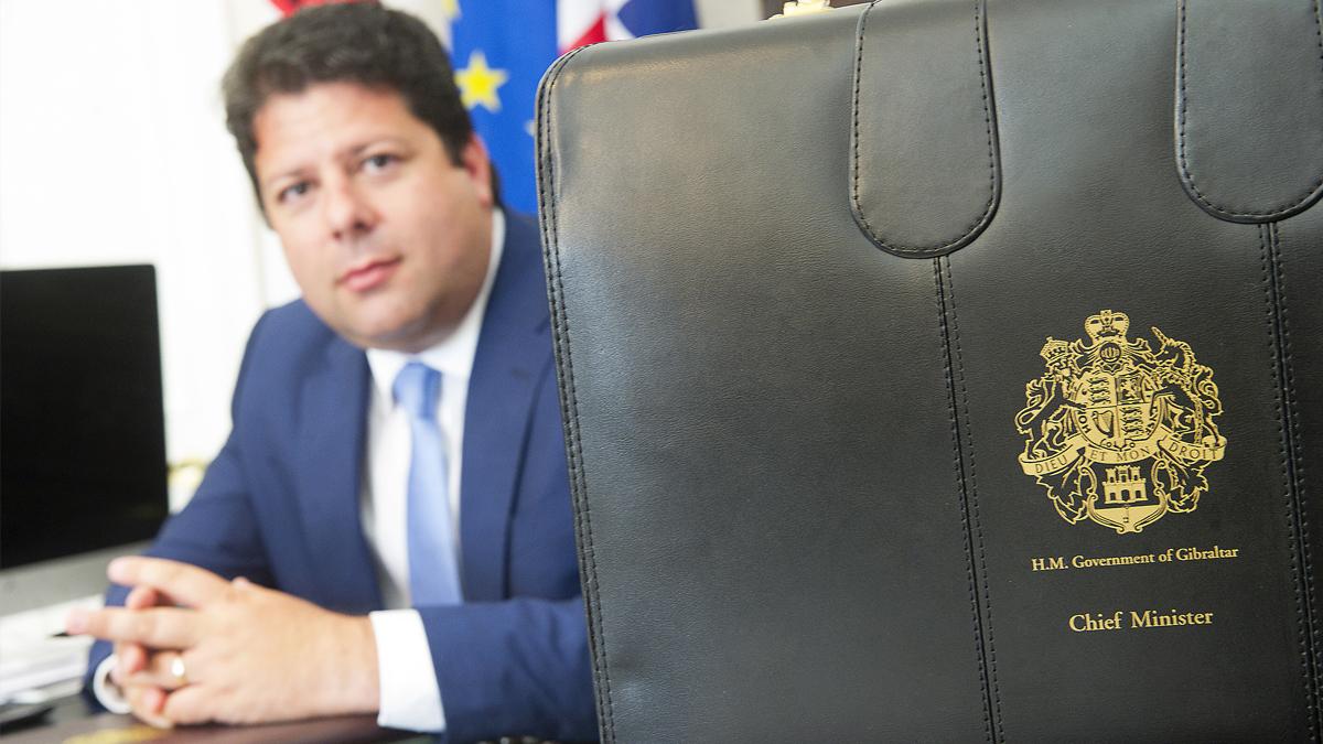Fabian Picardo ministro principal de Gibraltar