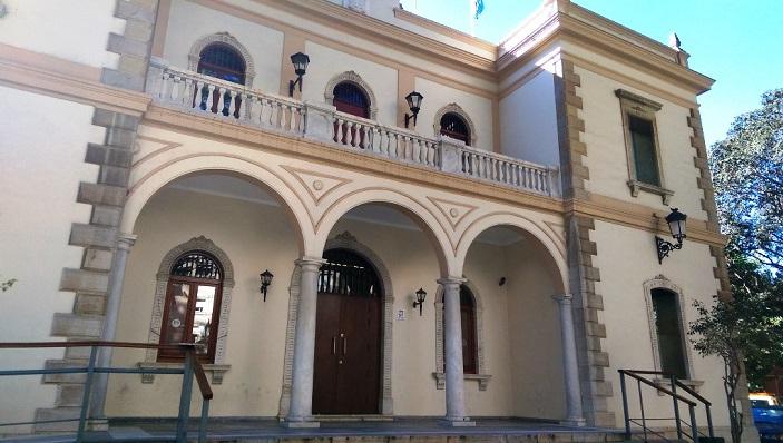 Fachada del Museo 'Cruz Herrera', de La Línea