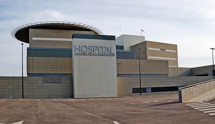 Fachada del nuevo hospital de La Línea