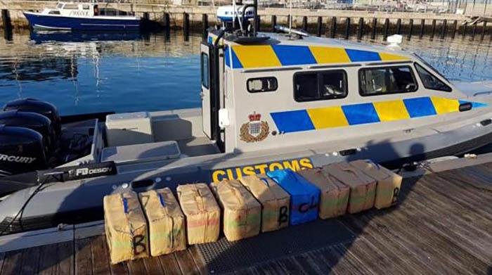 Contrabando de droga interceptado por Gibraltar