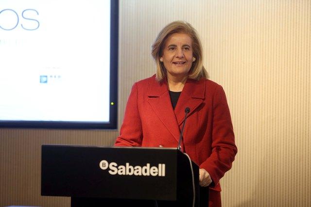 La actual ministra de Empleo, Fátima Báñez