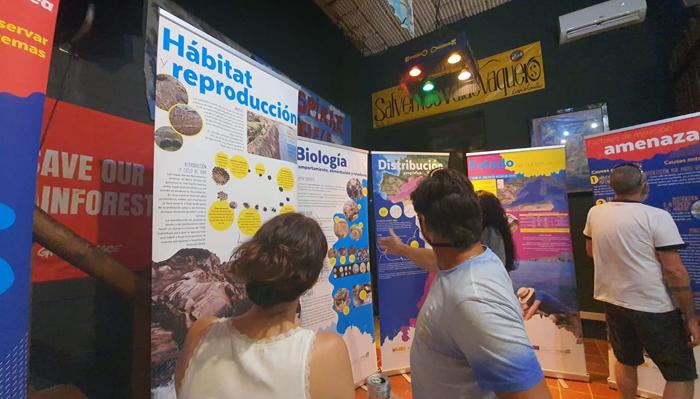 La exposición ha estado en otros municipios de la comarca