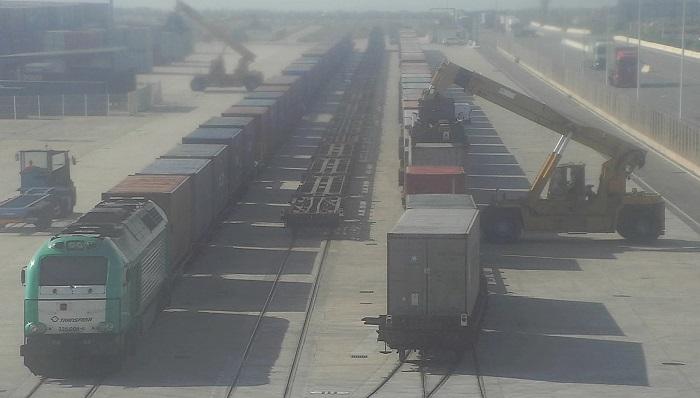 El Puerto de Algeciras opera más de 200 trenes de mercancías hasta mayo
