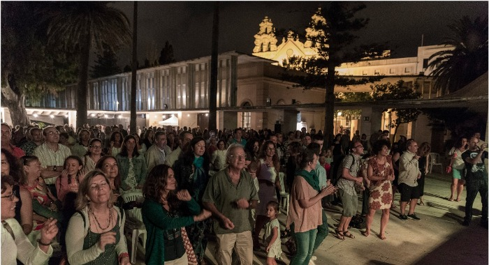Numeroso público en uno de los conciertos del pasado año. Foto: Luis Alvarado