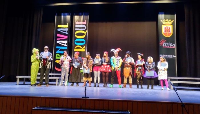 El jurado de la edición de 2019 del concurso de Carnaval