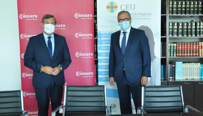 Juan Carlos Hernández Buades y Carlos Fenoy han firmado el convenio