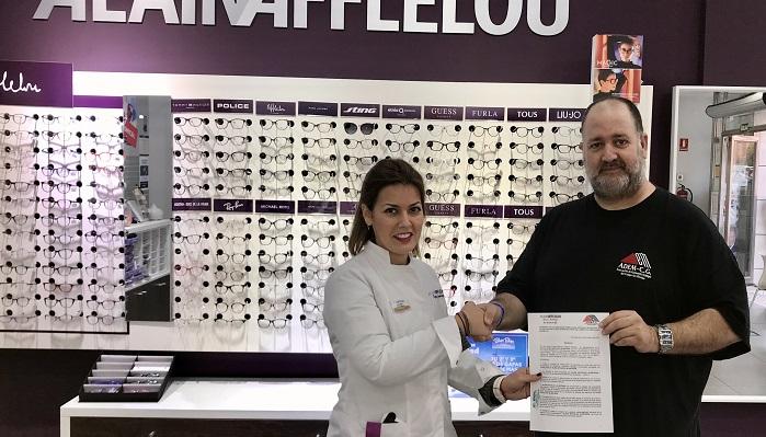 ADEM-CG firma una colaboración con Alain Afflelou