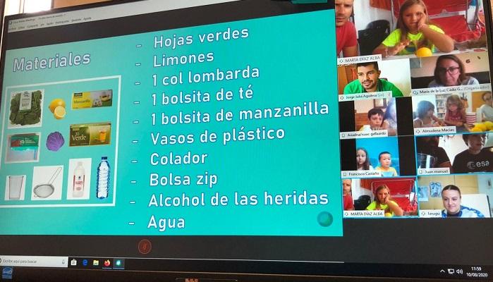 El taller online de Ciencia al Fresquito, un éxito en los jóvenes de Algeciras