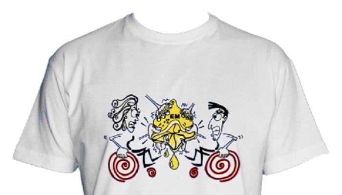 La Asociación de Esclerosis Múltiple vende camisetas para recaudar fondos