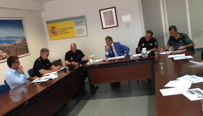 Reunión de la Mesa de Coordinación Operativa de Seguridad en Algeciras