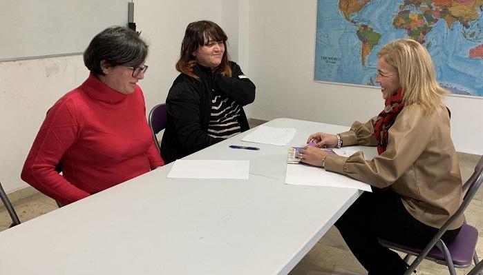 La Junta se reúne con la Fundación Amarante en Algeciras