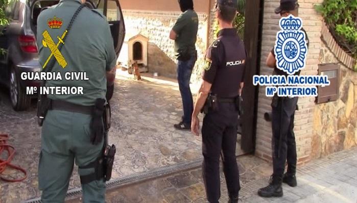 Policía Nacional y Guardia Civil realizan una operación contra el clan de Los Pantoja