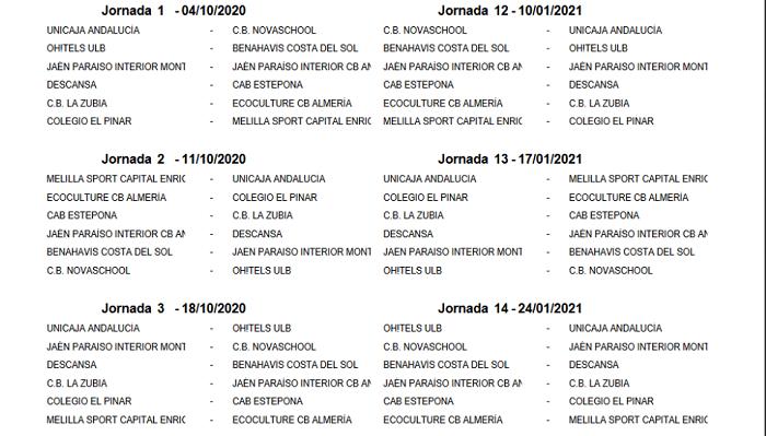 La Unión Linense debutará en Liga EBA el 4 de octubre frente al Novaschool