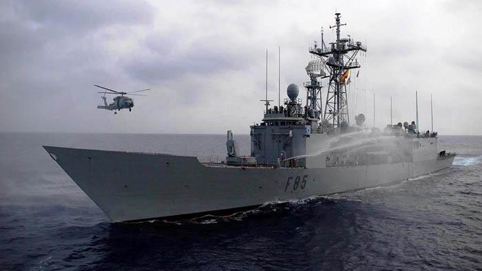 """La fragata """"Navarra"""" (F-85). Foto: Armada Española"""