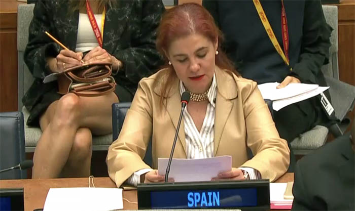 Francisca Pedrós, diplomática que representó a España en la Comisión de la ONU