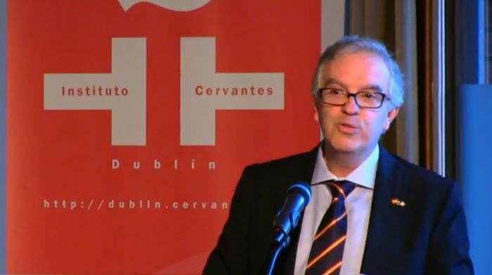 Francisco Oda, en una conferencia reciente en Dublín