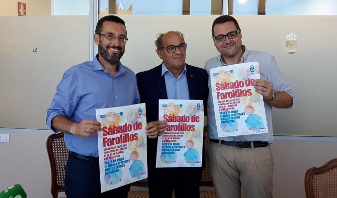 Alejandro Azuaga, a la derecha de la imagen
