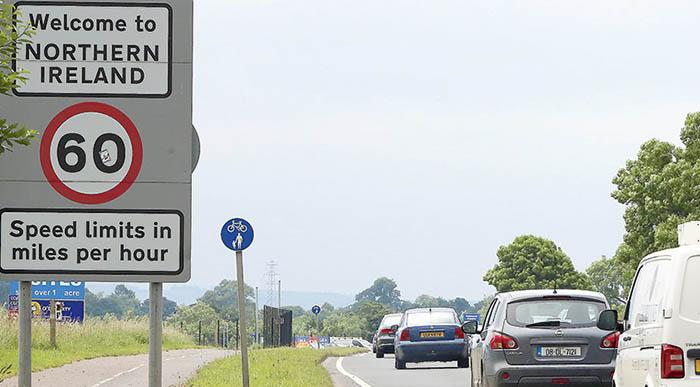 Acceso actual por carretera a Irlanda del Norte