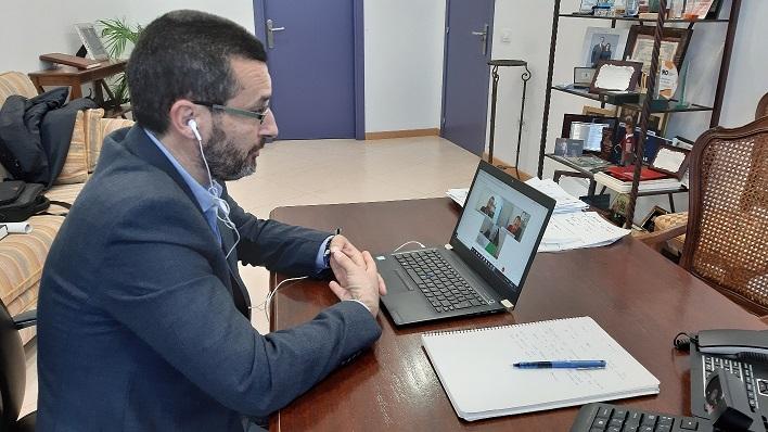 Juan Franco, esta mañana en la presentación de la campaña. Foto: lalínea.es