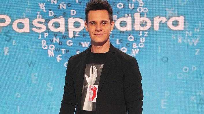 Christian Gálvez, en una imagen de su etapa en Pasapalabra