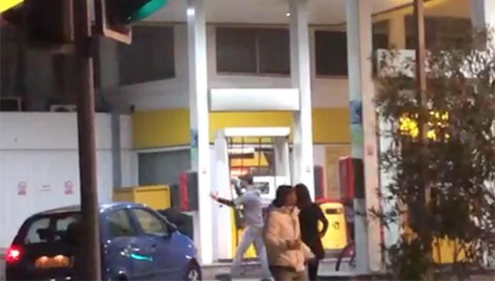 Incidente en una gasolinera en Gibraltar