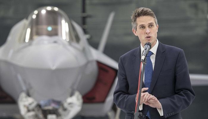 Gavin Williamson es el ministro de Defensa británico