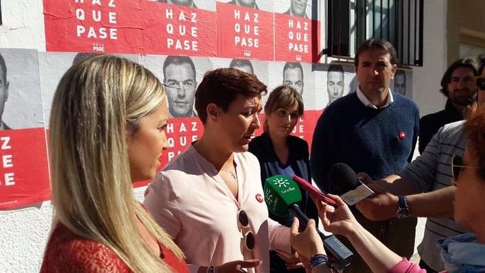 Gemma Araujo, en el centro de la image, en una imagen de archivo