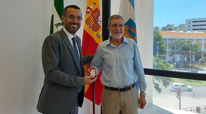 Juan Franco y el general Antonio Romero