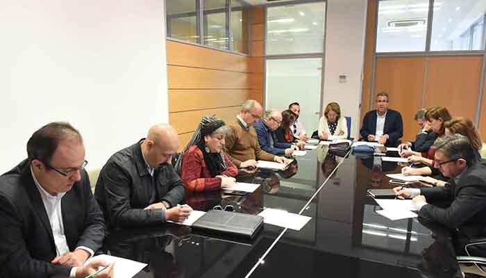 Reunión de la Gerencia de Urbanismo de Algeciras