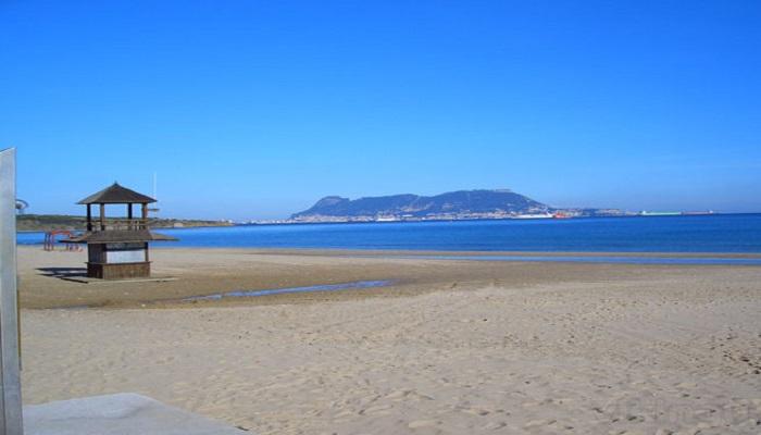 La playa de Getares de Algeciras