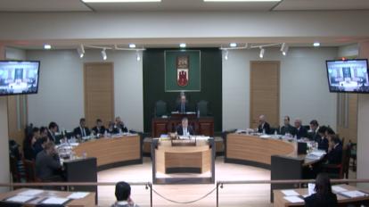 Una sesión parlamentaria. Foto GG