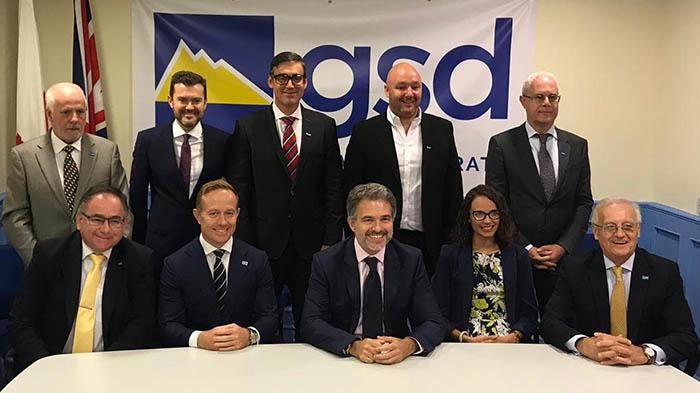 Foto oficial de los candidatos del GSD
