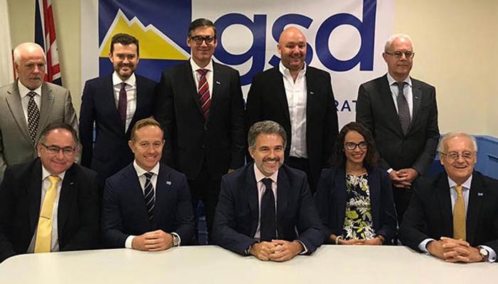 Representantes del GSD