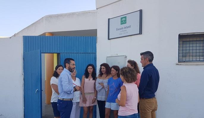 Una visita reciente del alcalde a las instalaciones ubicadas en la Atunara