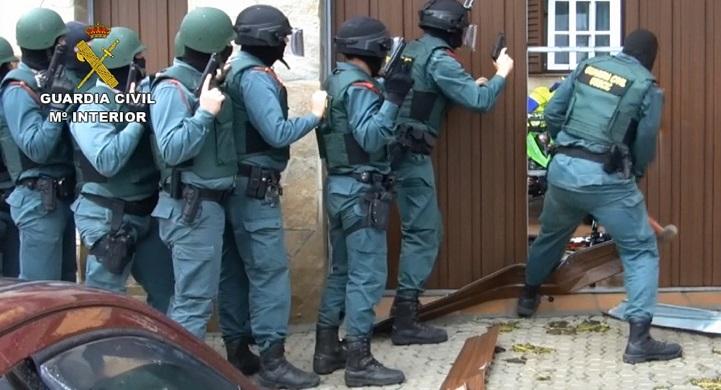 La Guardia Civil está llevando a cabo el operativo
