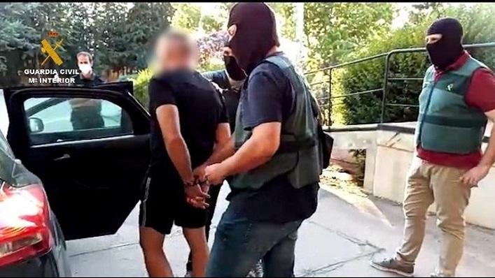 Una imagen de archivo difundida por la Guardia Civil