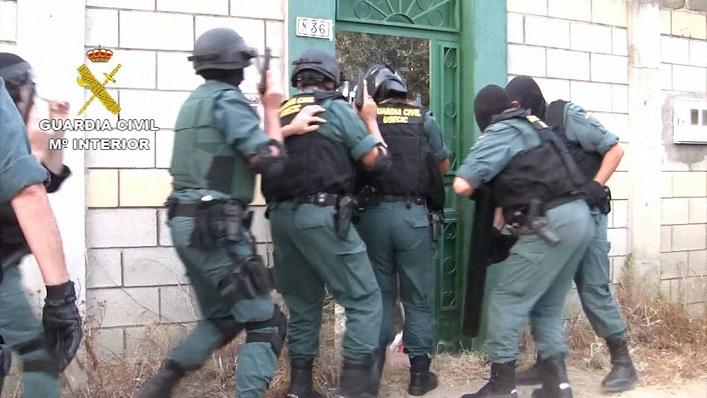 Una actuación de la Guardia Civil en una imagen de archivo
