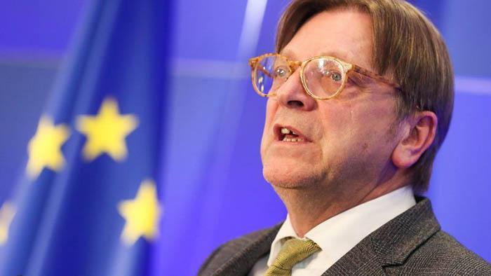Guy Verhofstadt, coordinador del Brexit en el Parlamento Europeo