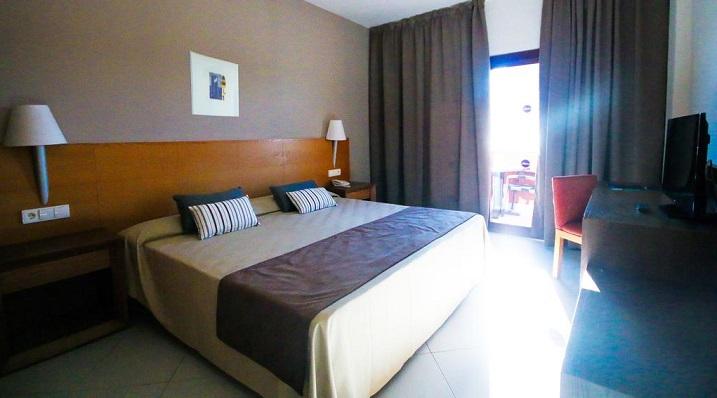 Una habitación de un hotel de la provincia