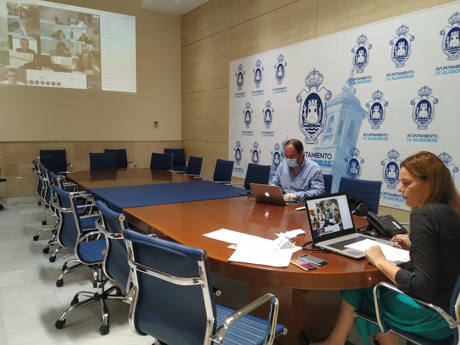 15 entidades deportivas de Algeciras firman un convenio con el Ayuntamiento