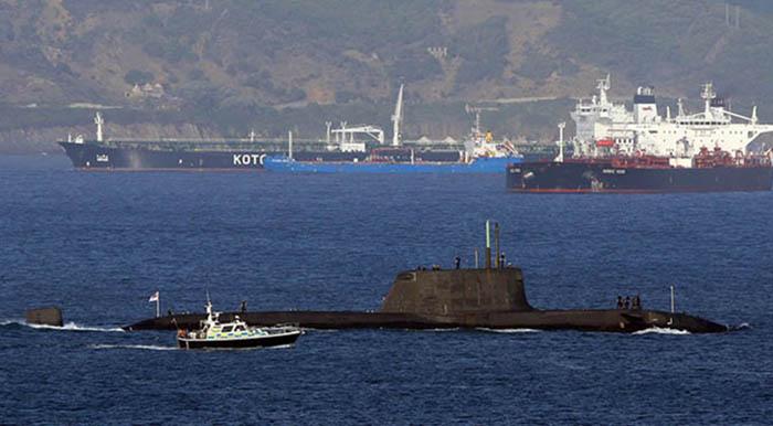 El HMS Ambush, en una foto de archivo
