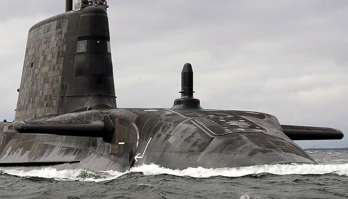 HMS Artful. Foto Royal Navy