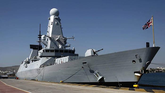 El HMS Duncan