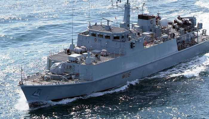 Dos buques de las Fuerzas Armadas británicas recalan en Gibraltar