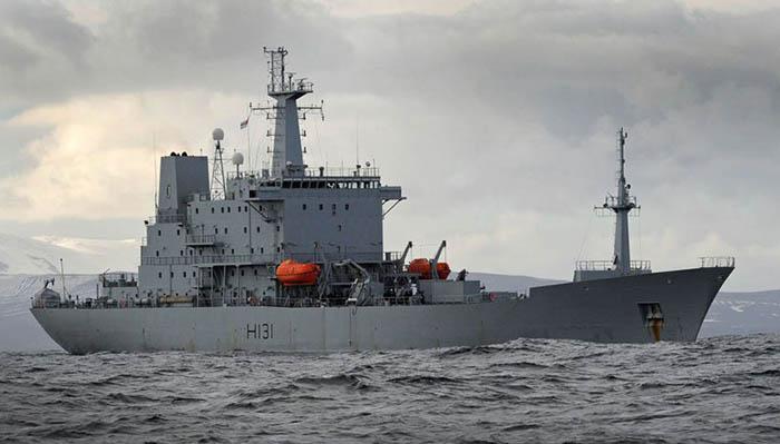 HMS Scott, en una imagen de archivo