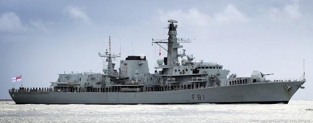 El HMS Sutherland estará mañana en Gibraltar